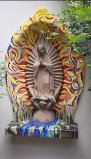 "Art Garino's ""Virgen"", in situ (private commission)"