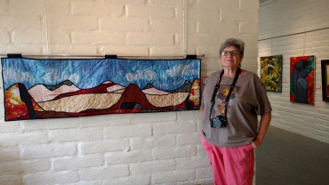 Bev Prager curated and hung this exhibit