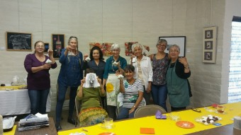 Fun creative workshop for local ladies!